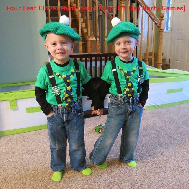 Saint Patrick's day party games