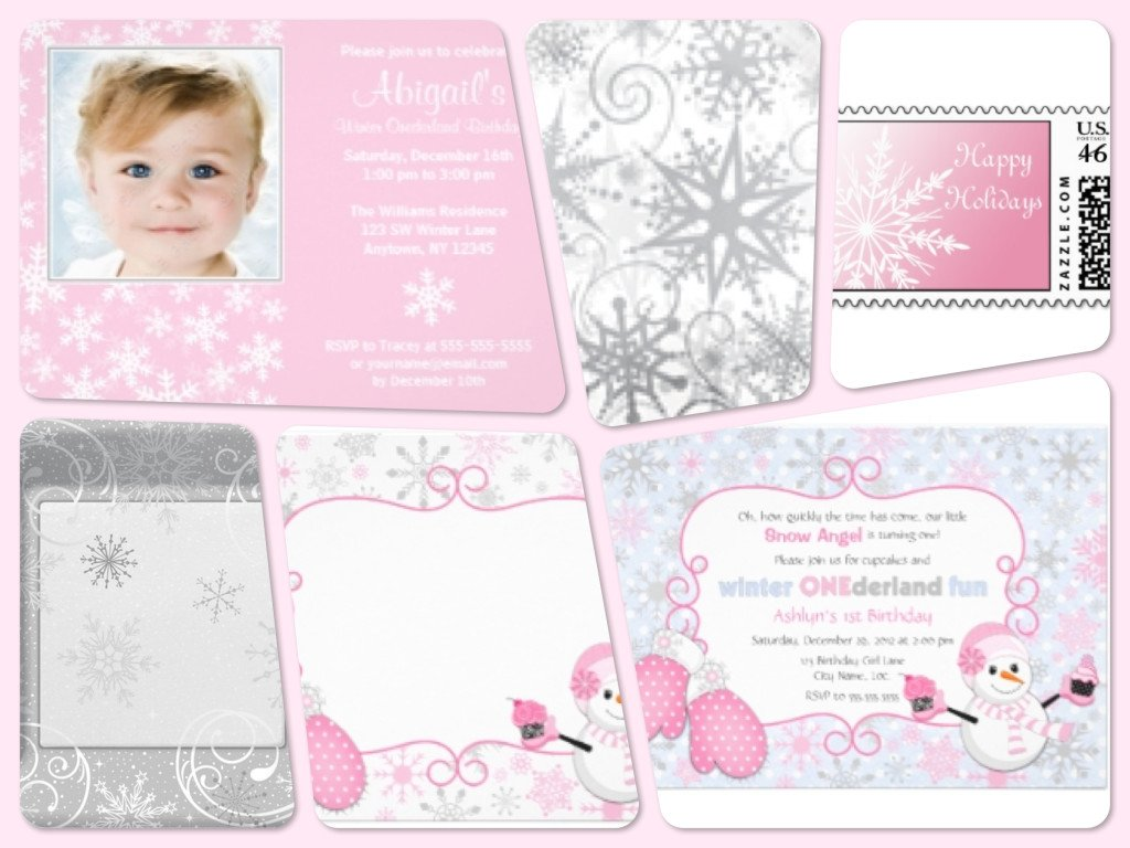 Pink Winter One Derland Party Planning Ideas And Supplies Party Idea Pros