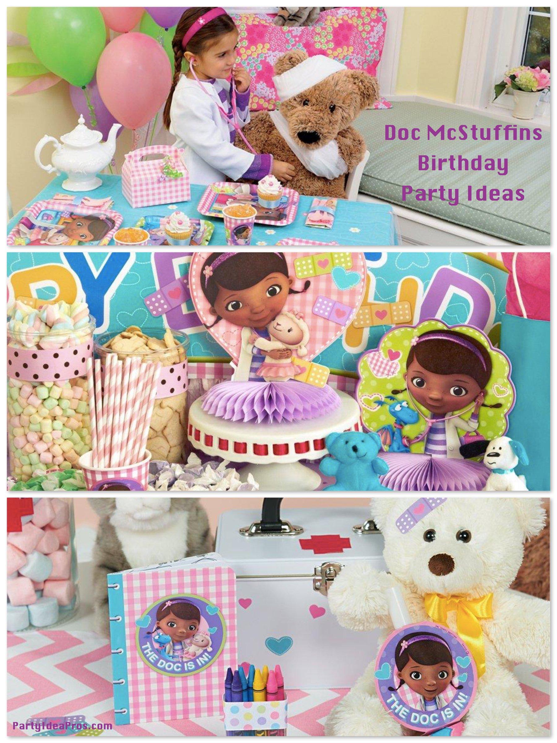 doc mcstuffins birthday party planning ideas supplies