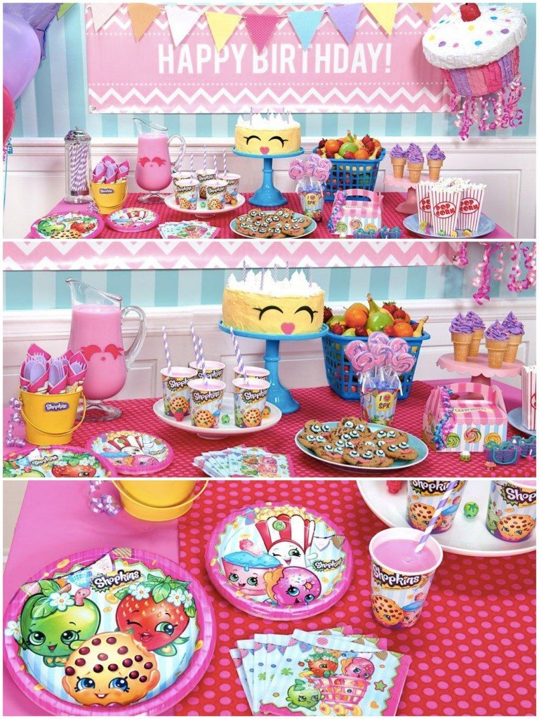 Shopkins Birthday Party Planning Ideas Supplies Theme Parties Partyideapros Com