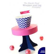 Free Cupcake Stand