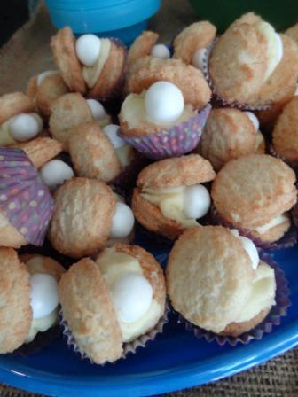 Edible seashells