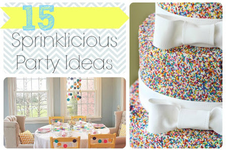 Sprinkle Party Ideas