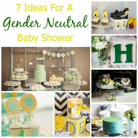 ideas for a gender neutral baby shower party ideas