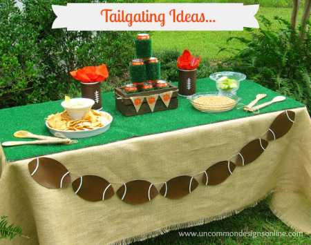 tailgating Ideas Table