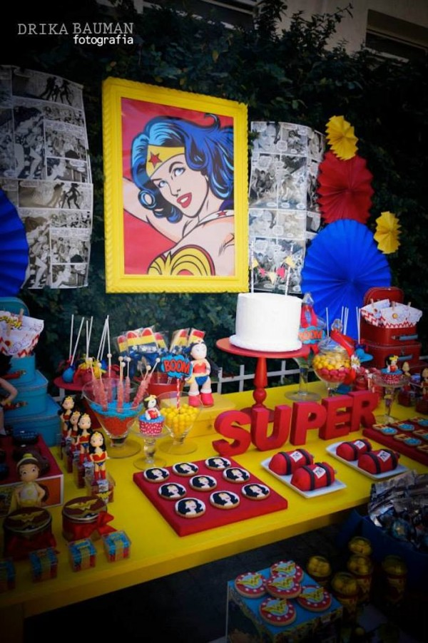 Wonder Woman Birthday Party Ideas