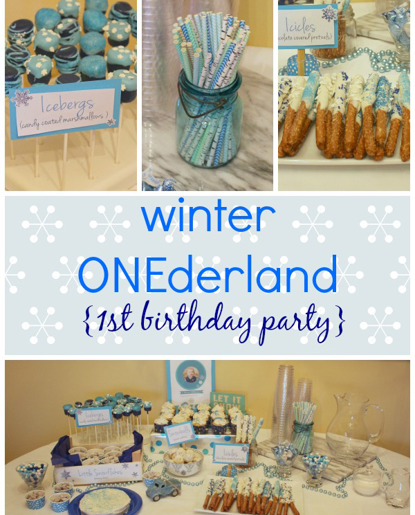 A Winter ONEderland for Baby's First Birthday – Party Ide ~ 213913_Birthday Party Ideas Winter