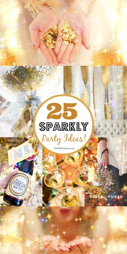 25 Sparkly Party Ideas for New Year's Eve – Party Ideas