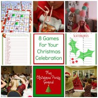 8 Screen Free Games For Your Christmas Celebration