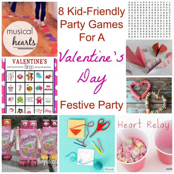Classroom Birthday Party Games ~ Kid friendly party games for a valentine s day festive