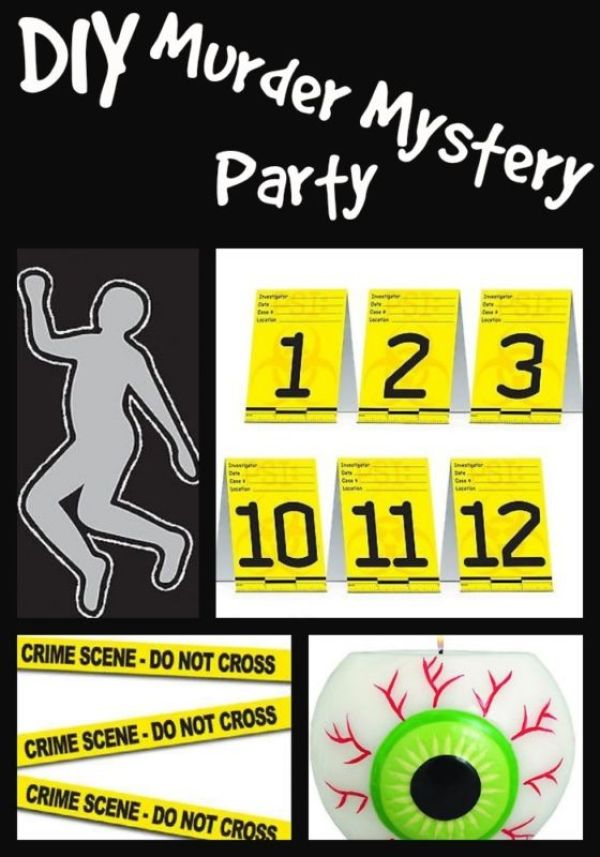 7 Ways To Host A Killer Murder Mystery Party – Party Ideas