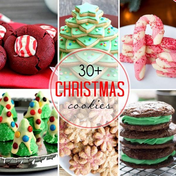 30 Christmas Cookies