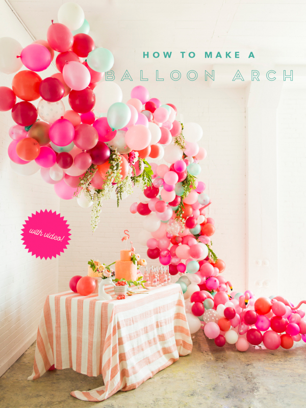 This Is The Most Beautiful Balloon Arch Ever Party Ideas