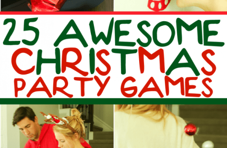 25 Christmas Party Games