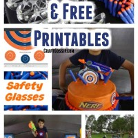 Nerf Party Ideas With Free Printables