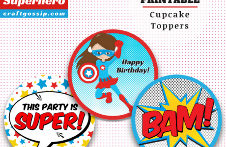 Free Super Hero Party Printables For Girls