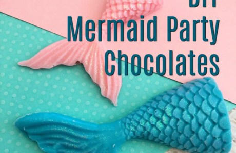 Mermaid Party Chocolate Treats