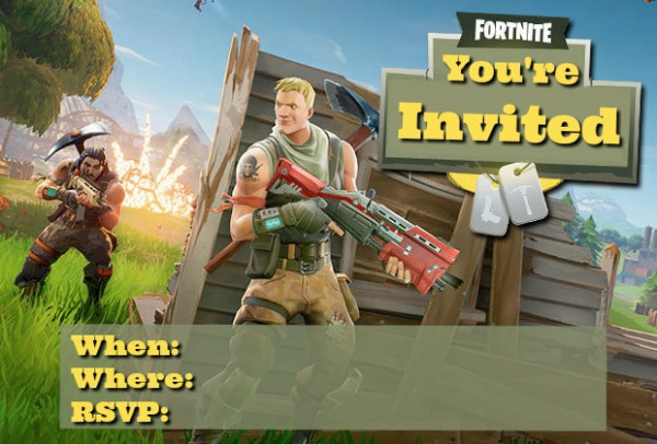 The Best Biggest Free Fortnite Party Ideas List Party Ideas