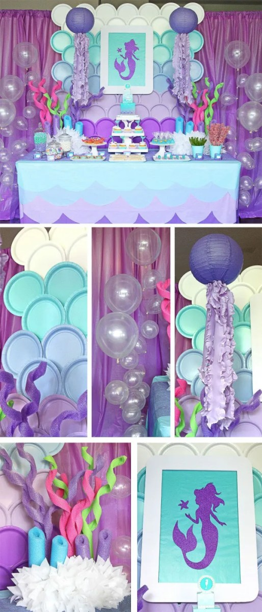 Summer Mermaid Party Idea