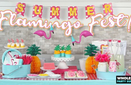 DIY Flamingo Summer Party