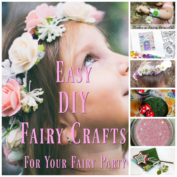 11 Easy Fairy Party Craft Ideas – Party Ideas