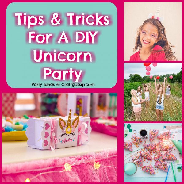 Planning a Unicorn Themed Birthday Party – 7 Tricks and Tips