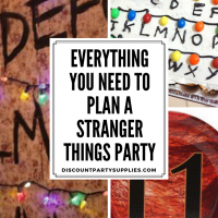Party Ideas - Stranger Things