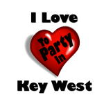 i love to party in key west