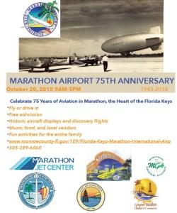 Celebrate 75 Years of Aviation at Marathon Airport!