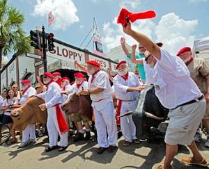 Key West Hemingway Days - Papa Look Alike Contest