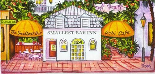 THE SMALLEST BAR INN HOTEL aka OLD CUSTOMS HOUSE INN
