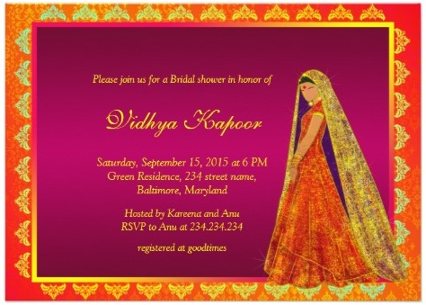 Hindu Indian Wedding Invitations Eastern Fusion Designs