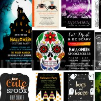 Fun Scary & Unique Halloween Invitations