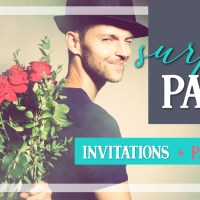 Surprise Party invitations & ideas