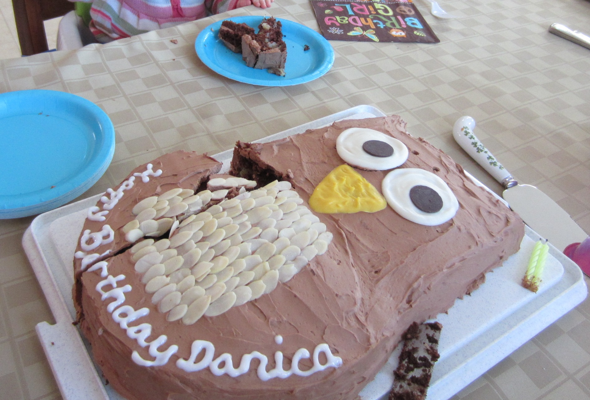 Look Whoo S 2 The Cake