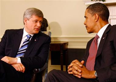 Harper & Obama: Odd Men Out