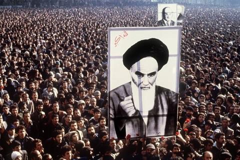 The rise of Ayatollah Khomeini in 1979