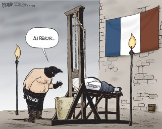 Death to Austerity In France