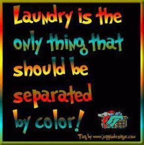 Laundry by color