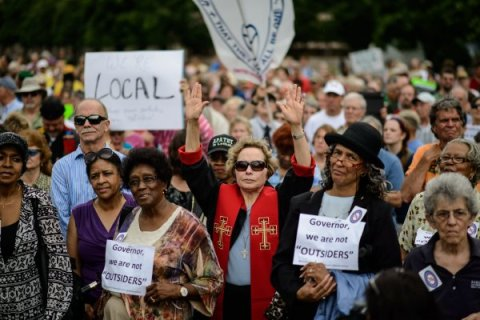 Moral Monday protesters