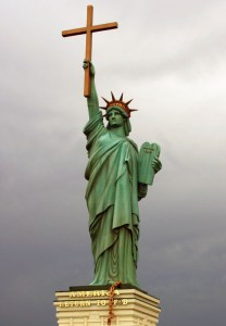 American Theocracy statue of liberty