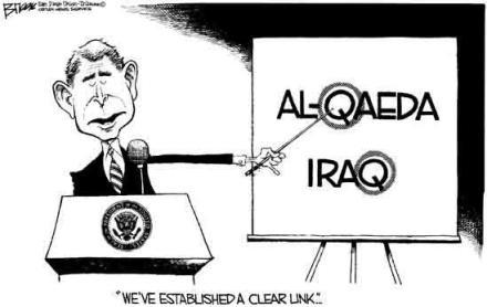 George Bush Iraq link
