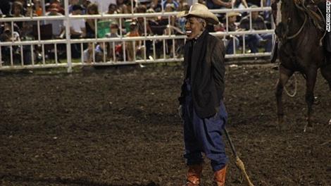 Tuffy Gessling - obama rodeo clown