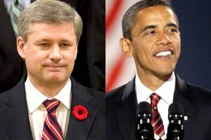 Obama and Harper, keystone XL pipeline