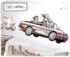 Ted Cruz Cartoon