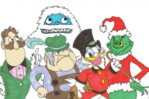 Christmas Villains, stuart varney