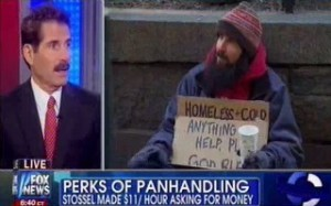 john stossel, homeless