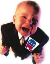 Republican Bullies, republican crybaby, gop crying