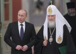 Kirill and Putin, conservative russia