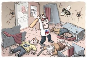 midterm elections, cartoon